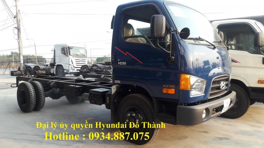 Bán xe tải Hyundai hd99 6.5 tấn - hyundai hd99 6t5/6.5 tấn/6,5 tấn thùng dài 5.1 mét