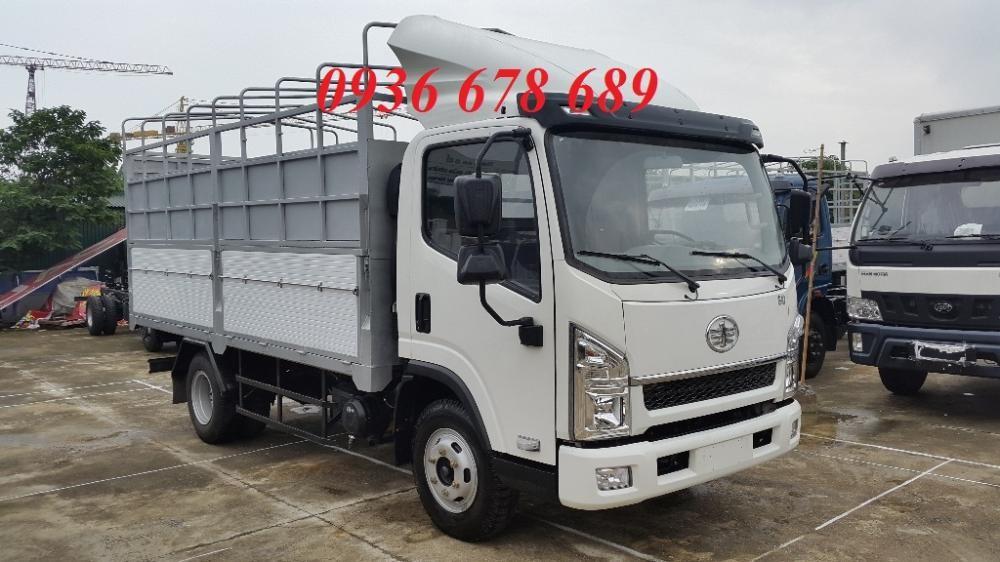 FAW 6,2 tấn, Cabin Isuzu, thùng dài 4,36M, chở nặng, giá tốt - Lh: 0936 678 689