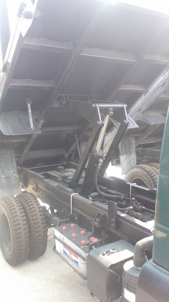 Bán xe ben Cửu Long dưới 2,4 tấn 2016, có xe giao ngay, xe chạy trong thành phố