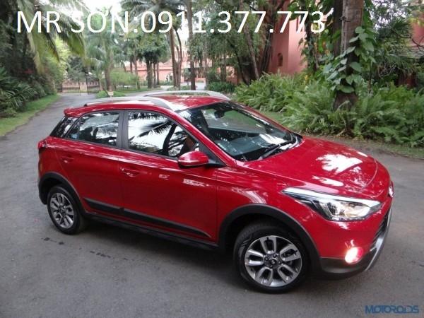 Bán ô tô Hyundai i20 Active đời 2016, màu đỏ, nhập khẩu chính hãng, giá 596tr