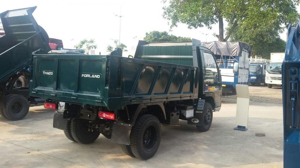 Xe ben 3,5 tấn thaco Trường Hải mới nâng tải 2017 LH: Mr Vinh 0982536148