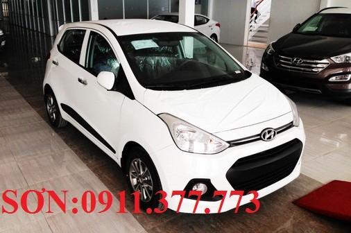 Bán ô tô Hyundai i10 mới 2017, màu trắng, nhập khẩu chính hãng, 358 triệu. Lhệ: Ngọc Sơn: 0911.377.773