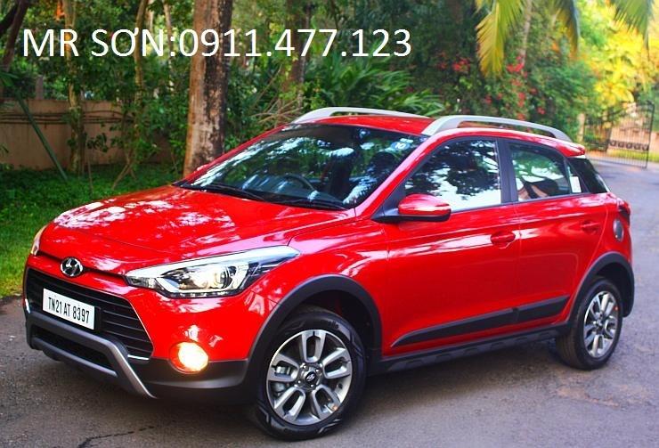 Cần bán xe Hyundai i20 Active đời 2016, màu đỏ, 596tr,nhập khẩu