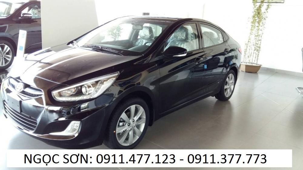 Bán ô tô Hyundai Accent mới 2016, màu đen, nhập khẩu chính hãng, 532tr