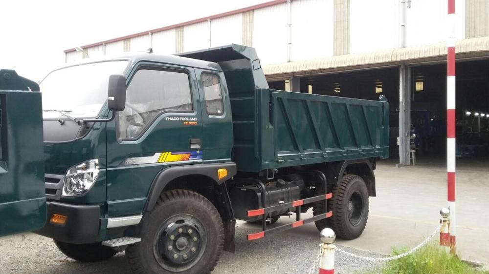 Giá xe ben 8,7 tấn thaco trường hải 2017