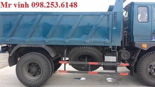 Xe ben 8,7 tấn Trường Hải mới nâng tải