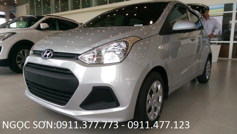 Bán Hyundai Grand i10 đời 2016, màu bạc, nhập khẩu chính hãng