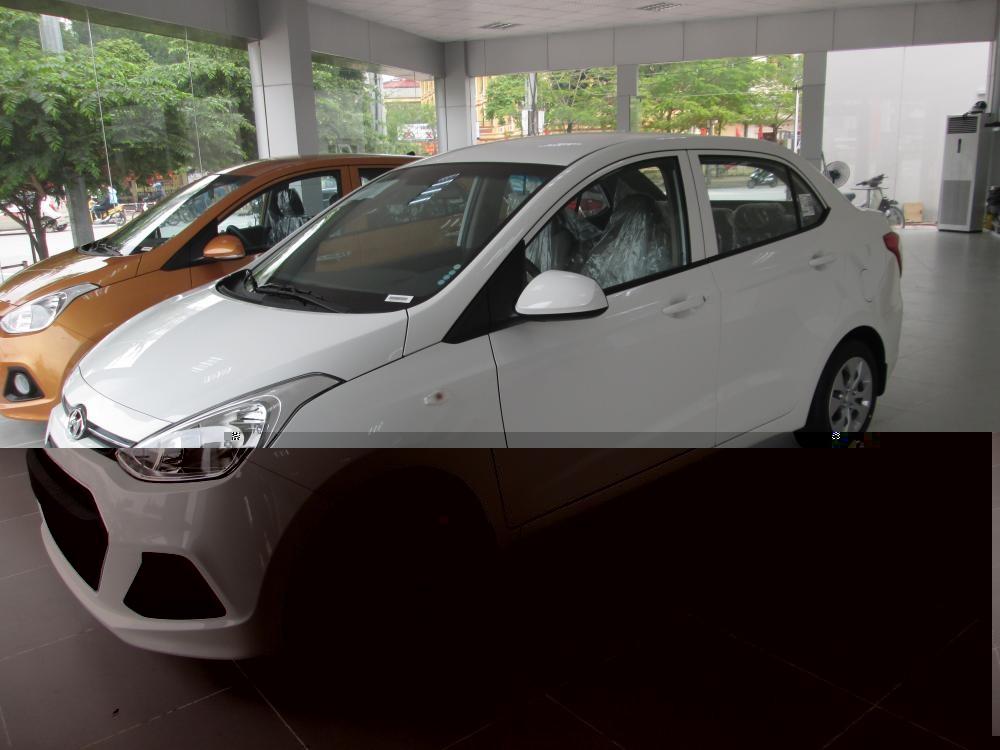 Bán Hyundai Grand i10 đời 2016, màu trắng, nhập khẩu