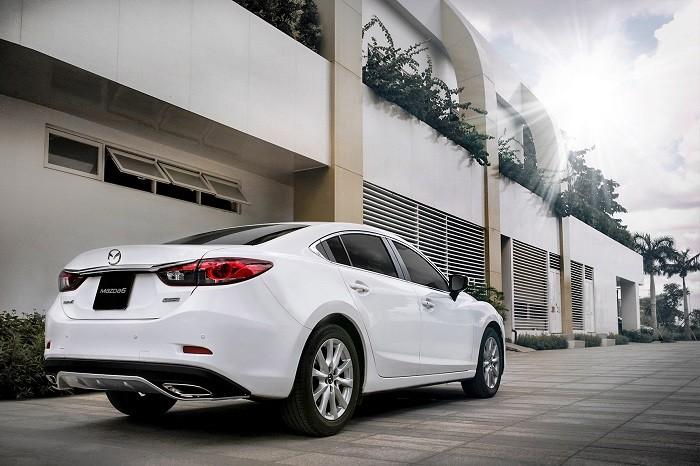 Xe Mazda 6 2.0 đời 2017 cản sau 2 bô mới thể thao-giá tốt nhất tại Biên Hòa-Đồng Nai-liên hệ hotline 0933000600