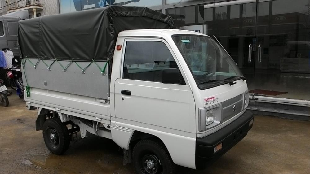 Bán ô tô Suzuki Super Carry Truck 2016, màu trắng, giá chỉ 217 triệu với nhiều KM hấp dẫn