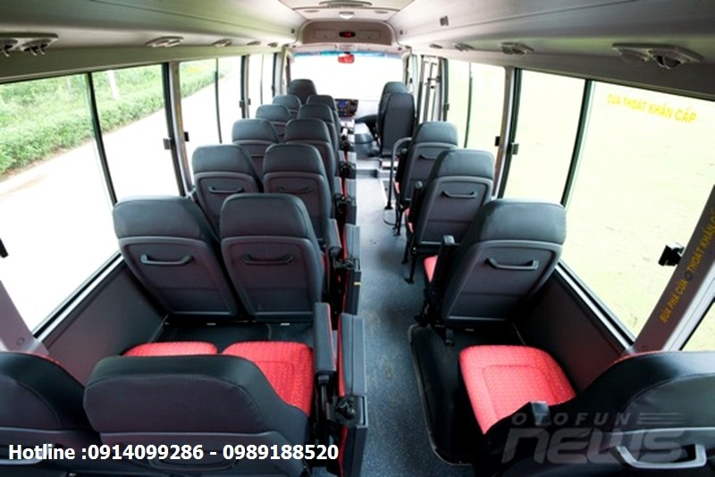 Xe khách 29 chỗ ngồi