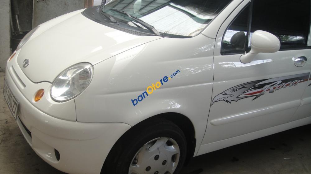 Cần bán gấp Daewoo Matiz sản xuất năm 2008, màu trắng, giá 165tr
