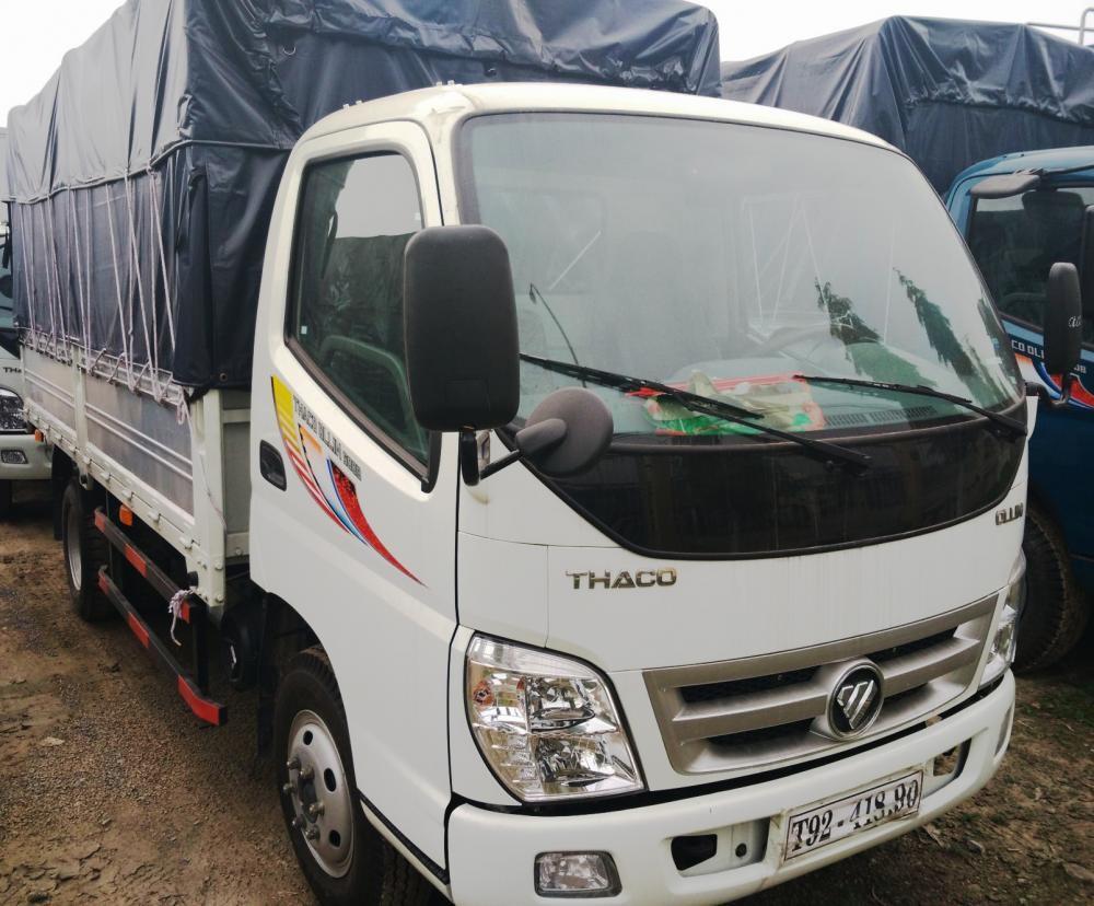 Giá xe tải Thaco Ollin 5 tấn Trường Hải mới nâng tải 2017 ở hà nội