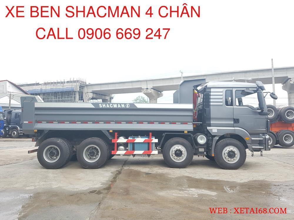 Bán xe tải Shacman sản xuất 2015, màu xám, nhập khẩu nguyên chiếc