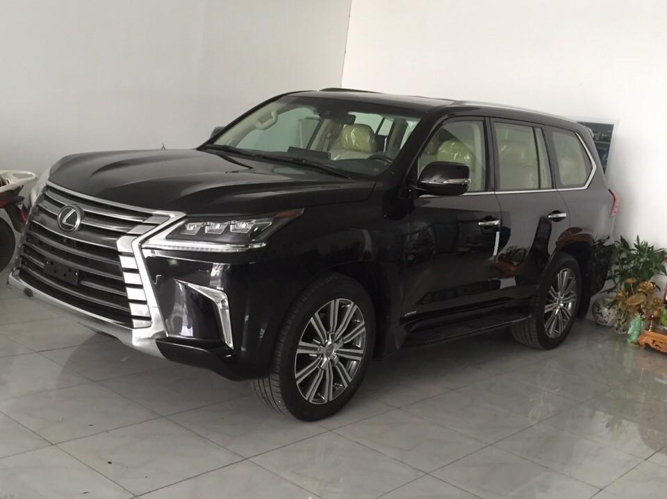 Cần bán Lexus LX 570 Limited 2016, màu đen, nhập khẩu Trung Đông