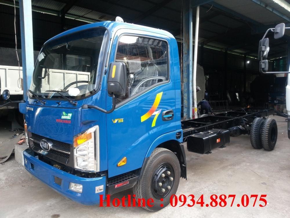 Bán xe tải Veam Hyundai 1t99 1.99 tấn thùng dài 6.2m, Veam vt260 1.99 tấn/1t99 dài 6.2 mét