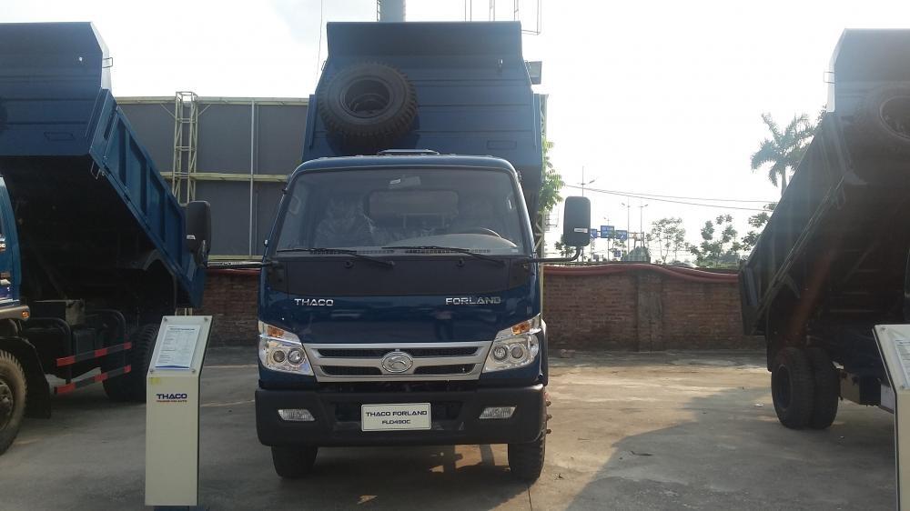 xe ben 8,7 tấn thaco trường hải 2017 ở hà nội