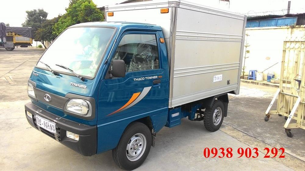 Bán xe Thaco Towner 2016, Thaco Towner 750A tải trọng từ 600kg đến 750kg, có bán trả góp