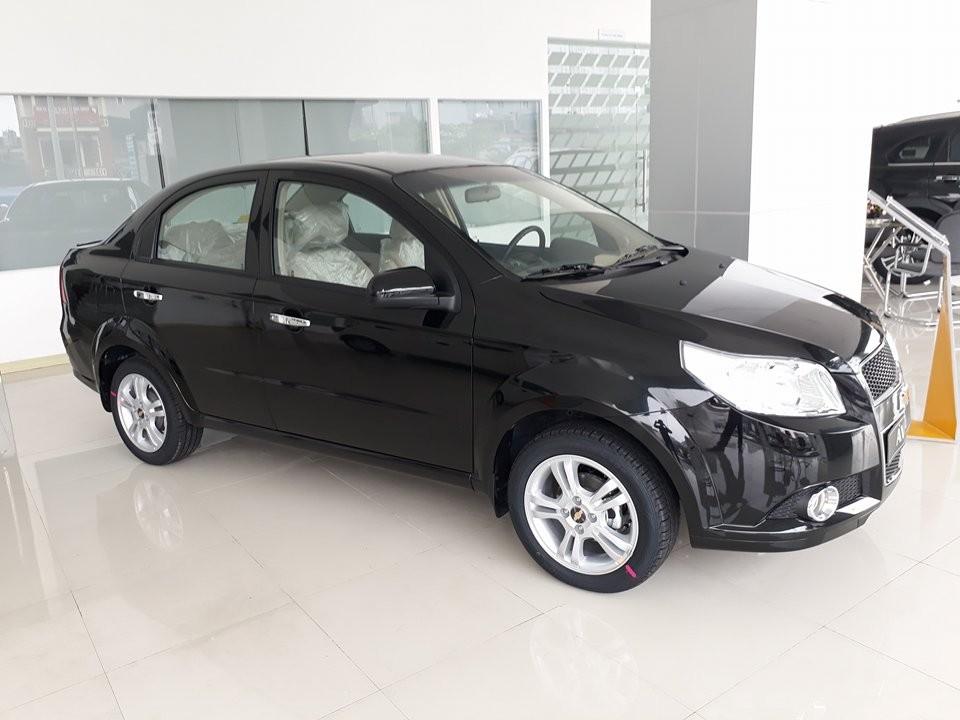 Chevrolet Aveo 1.5LT 2016, màu đen, 445tr