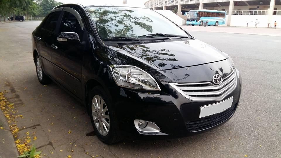 Bán ô tô Toyota Vios 1.5E 2011, màu đen