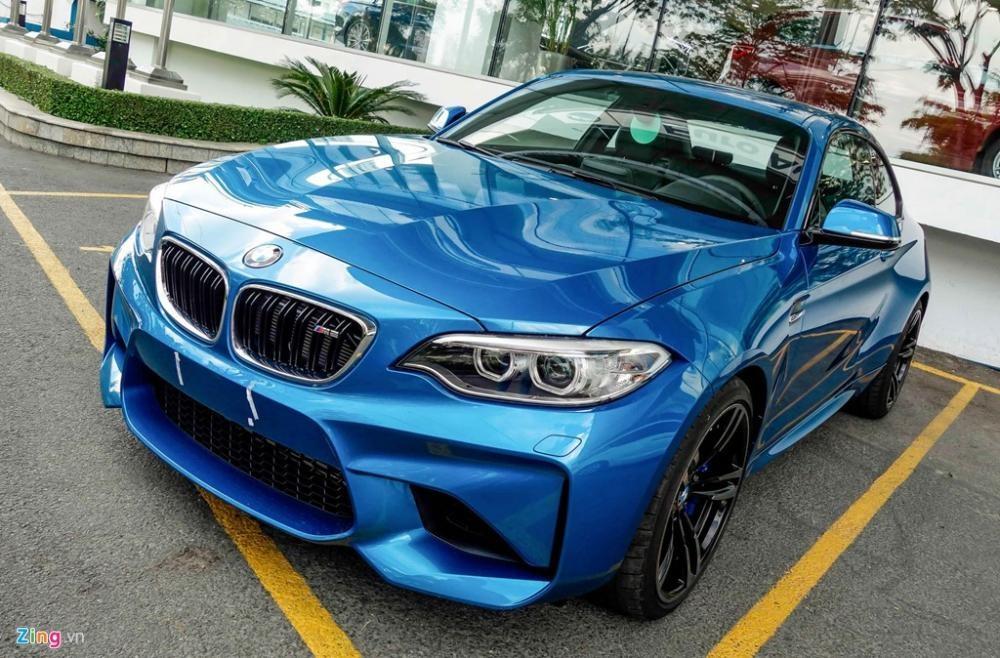 Giao ngay BMW M2 2017, Long beach blue, nhập khẩu chính hãng. TẶNG NGAY CHUYẾN ĐI HÀN QUỐC KHI ĐẶT CỌC XE.