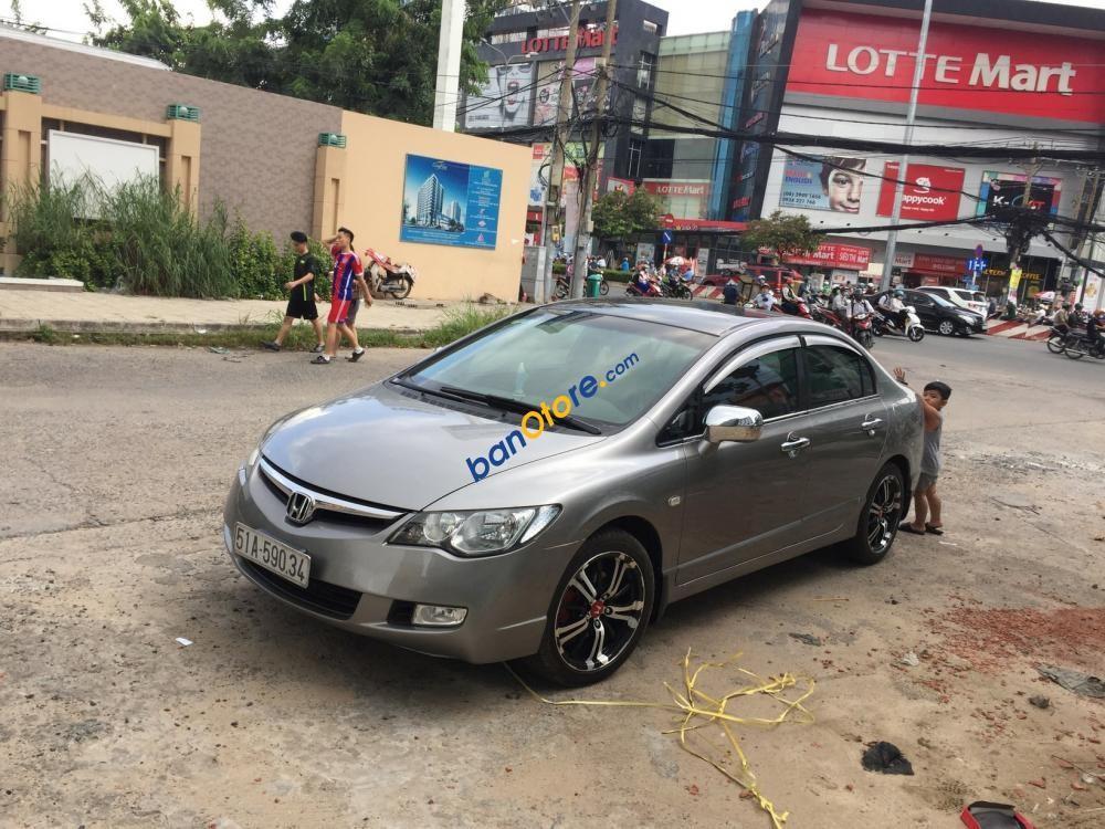 Cần bán Honda Civic 1.8 MT năm 2008, màu xám