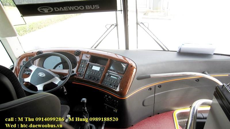 xe khách daewoo fx120 2016, mới