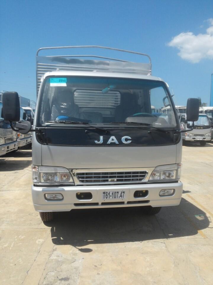Xe JAC 3,45 tấn bảo hành 100.000 km