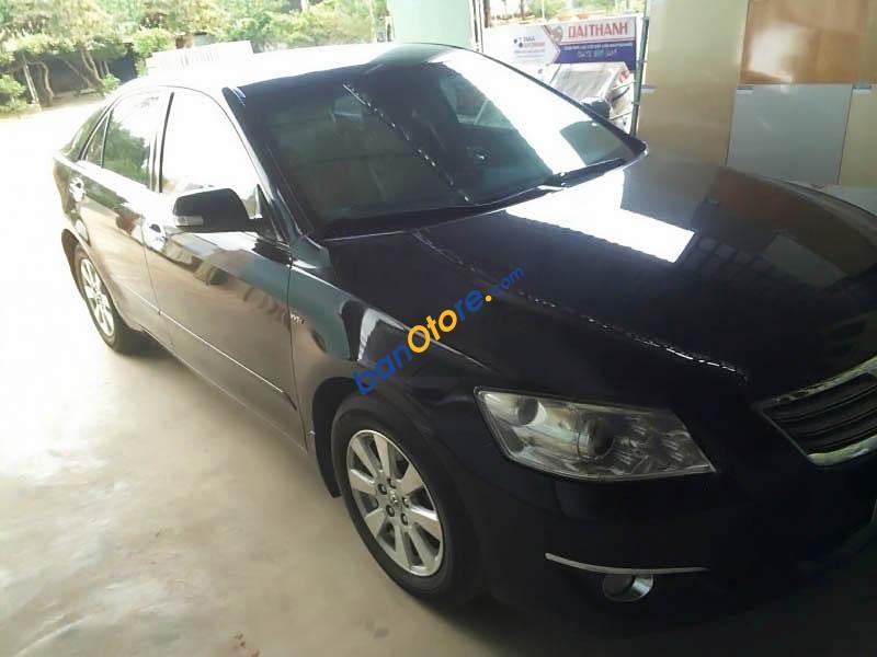 Gia đình bán xe Toyota Camry 2.4G đời 2007, màu đen