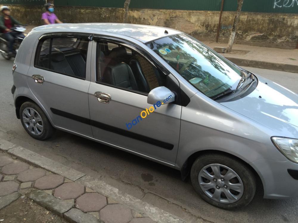 Bán Hyundai Getz năm 2009, màu bạc chính chủ