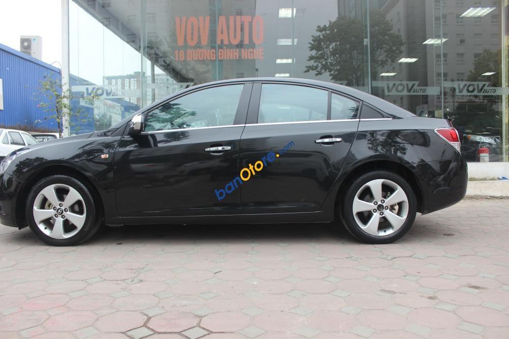 Bán ô tô Daewoo Lacetti CDX sản xuất 2010, màu đen, nhập khẩu