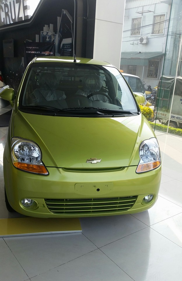 Chevrolet Spark 2016 xanh gốm