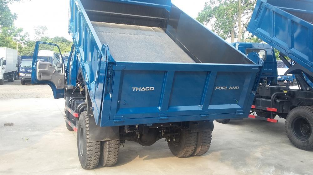 Xe ben 9 tấn thaco FD9000 trường hải mới nâng tải 2017