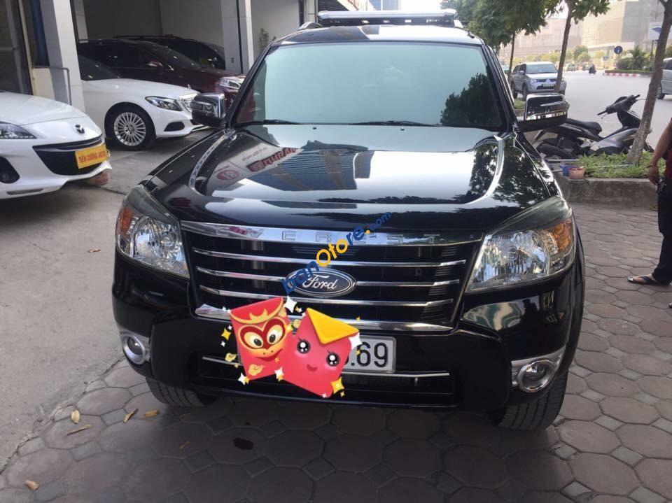 Bán ô tô Ford Everest Limited sản xuất 2011, màu đen, xe nhập