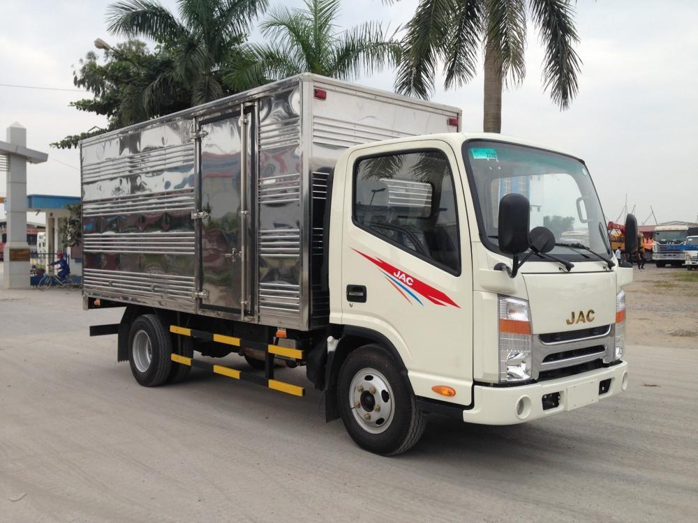 Bán xe tải JAC 1,99 tấn 2 tấn cabin ISUZU mới Thái bình 0964674331