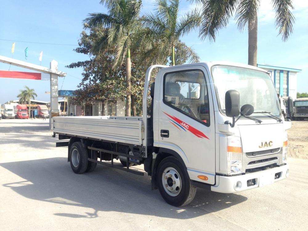 Mua xe tải 3,45 tấn JAC thùng bạt, kín Hải Phòng