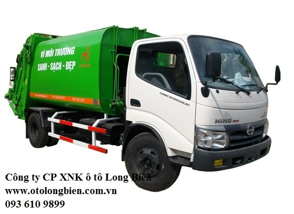 - Xe ép rác Hyundai, Daewoo, Isuzu, Fuso 2-3 tấn 5-6m3 sản xuất 2017, 2018
