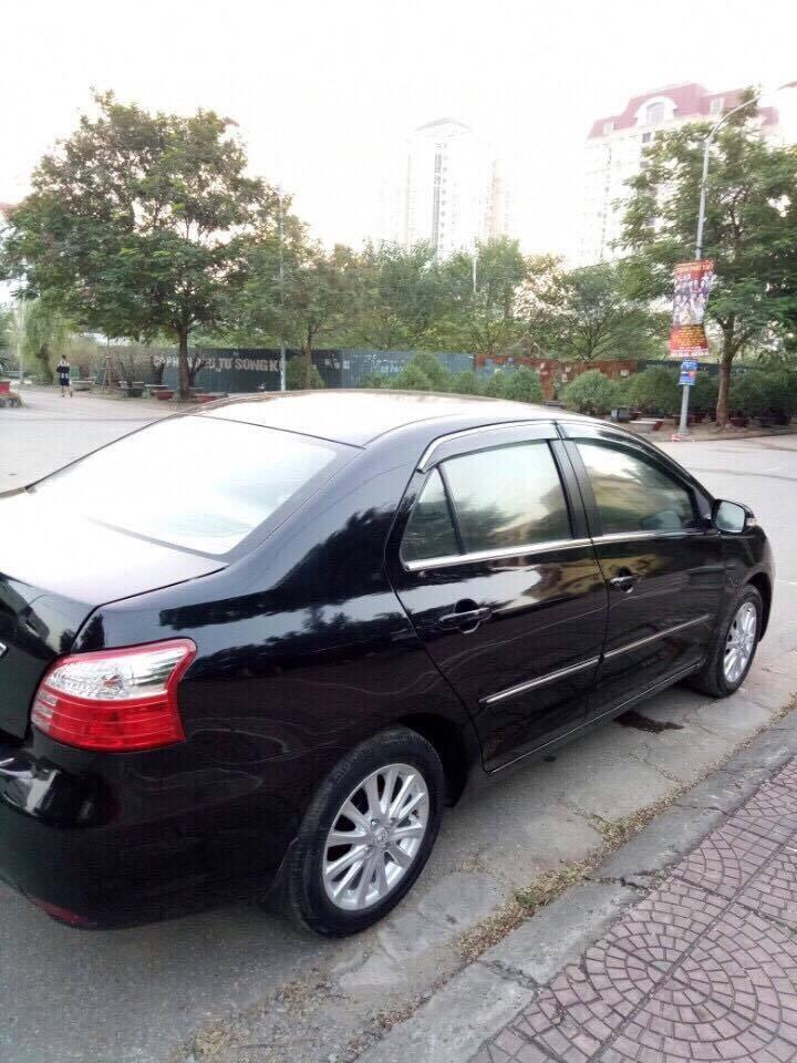 Cần bán xe Toyota Vios E đời 2010, màu đen, như mới, giá chỉ 380 triệu