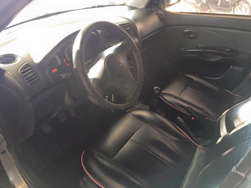 Cần bán lại xe Kia Morning  đời2009, màu xám