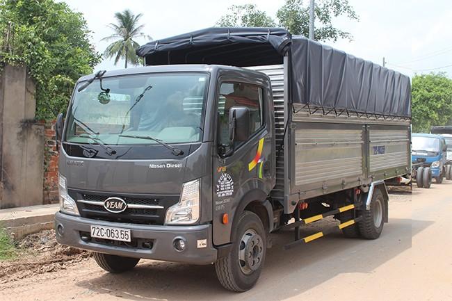 Xe tải 6,5tấn không cần trả trước, vay vốn khắp cả nước, 550tr đồng