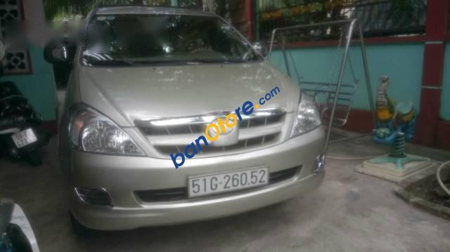 Cần bán lại xe Toyota Innova G 2008, màu bạc, 477 triệu