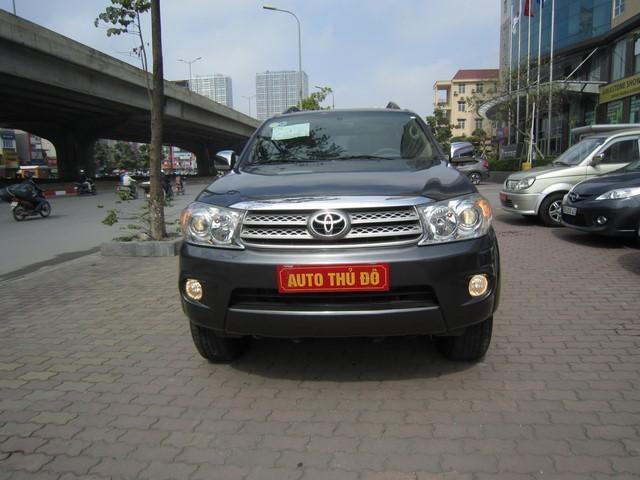 Cần bán Toyota Fortuner 2009, màu xám, giá 639tr