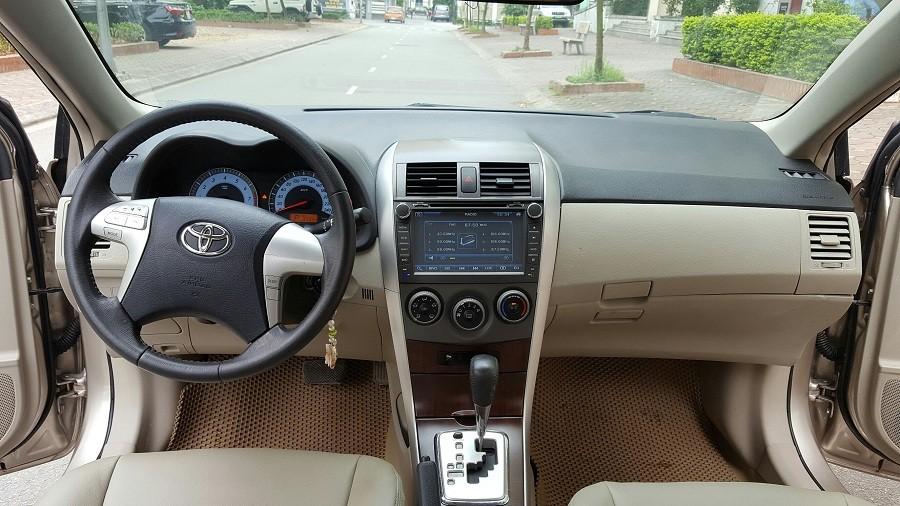 Chính chủ gia đình tôi cần bán xe Toyota Altis 1.8 G sản xuất 2013, đăng ký và sử dụng lần đầu năm 2014
