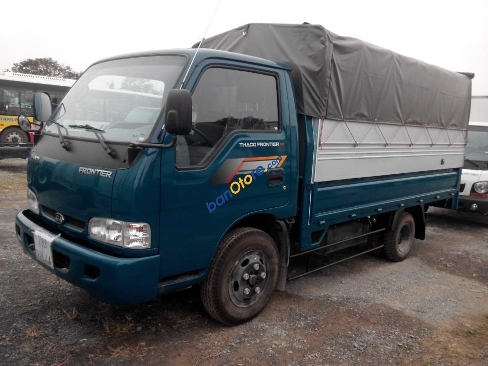 Bán xe Thaco Kia K190/Frontier 125 năm 2016, màu xanh