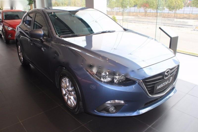 Bán xe Mazda 3 1.5 AT sản xuất năm 2016, màu xanh lam, giá 680tr