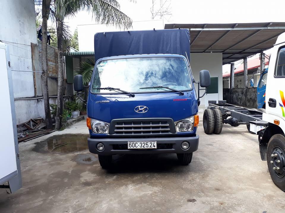 Hyundai tải Mighty HD801, tải trọng 9 tấn, đời 2017