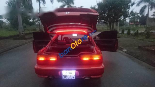Bán xe Honda Integra sản xuất 1990, màu đỏ, xe nhập, 180tr