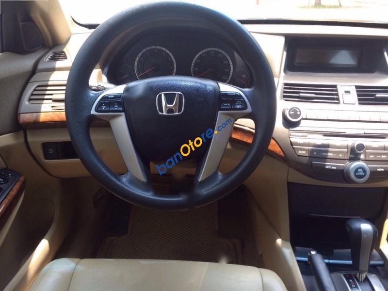 Bán Honda Accord 2.4AT năm 2008, màu đen, nhập khẩu nguyên chiếc