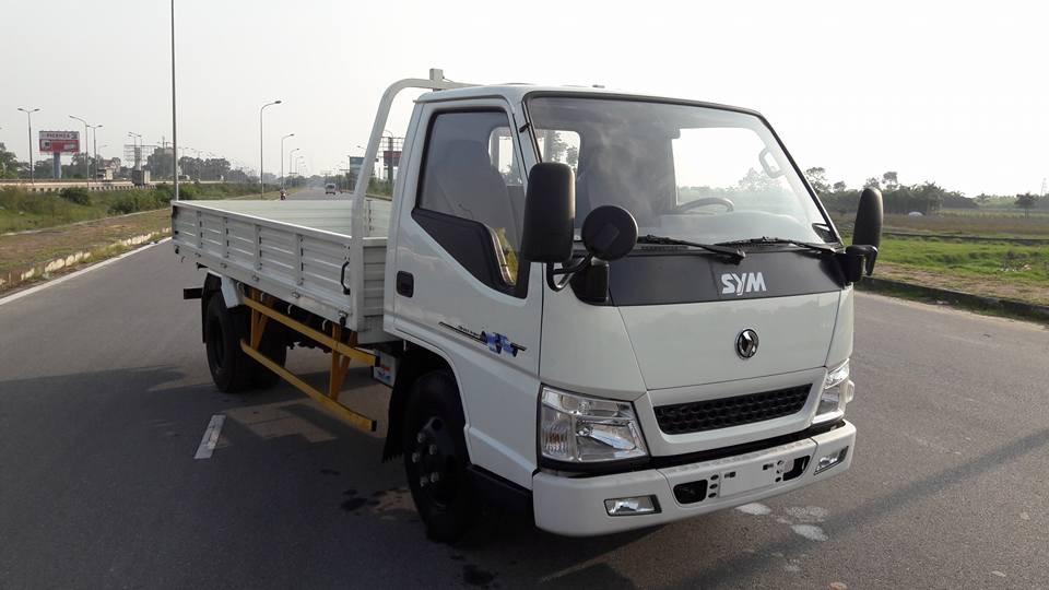 Xe tải sym tải trọng 2 tấn trả góp