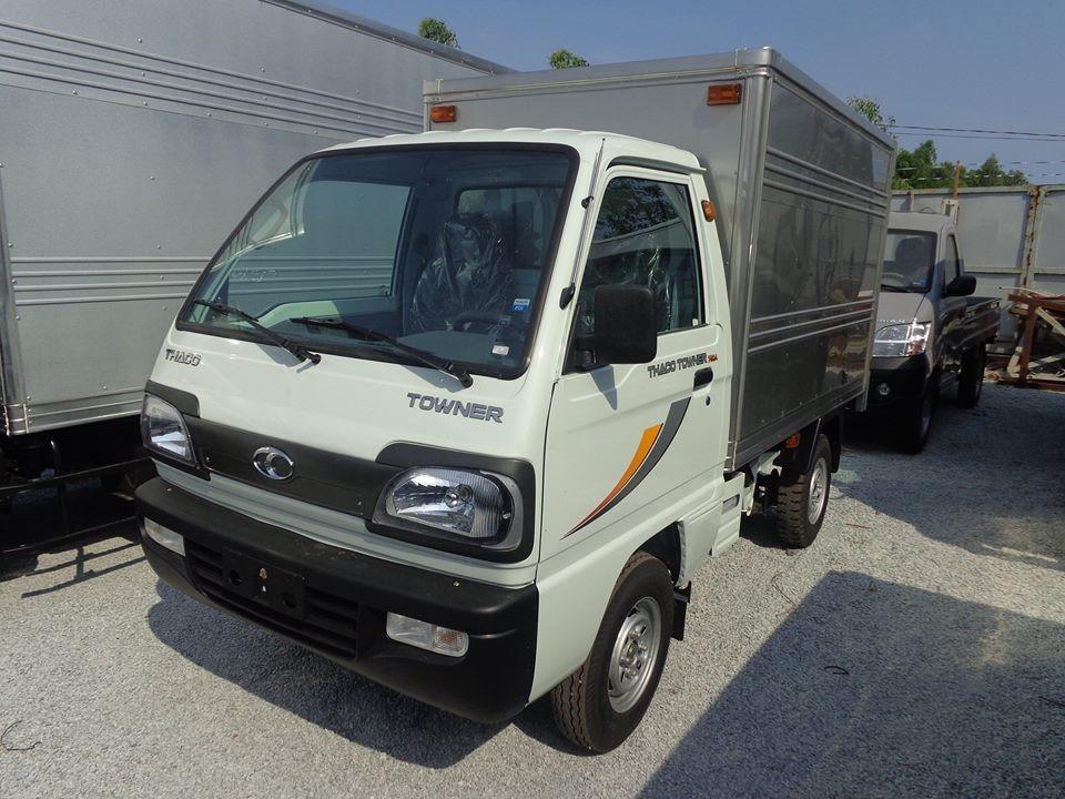 Bán xe Thaco Towner 800 thùng mui bạt, mới 100% kim phun điện tử
